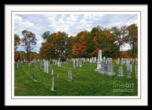 Old Yard Cemetery, Stowe, Vermont.