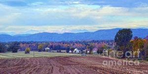 Vermont Countryside After the Harvest.